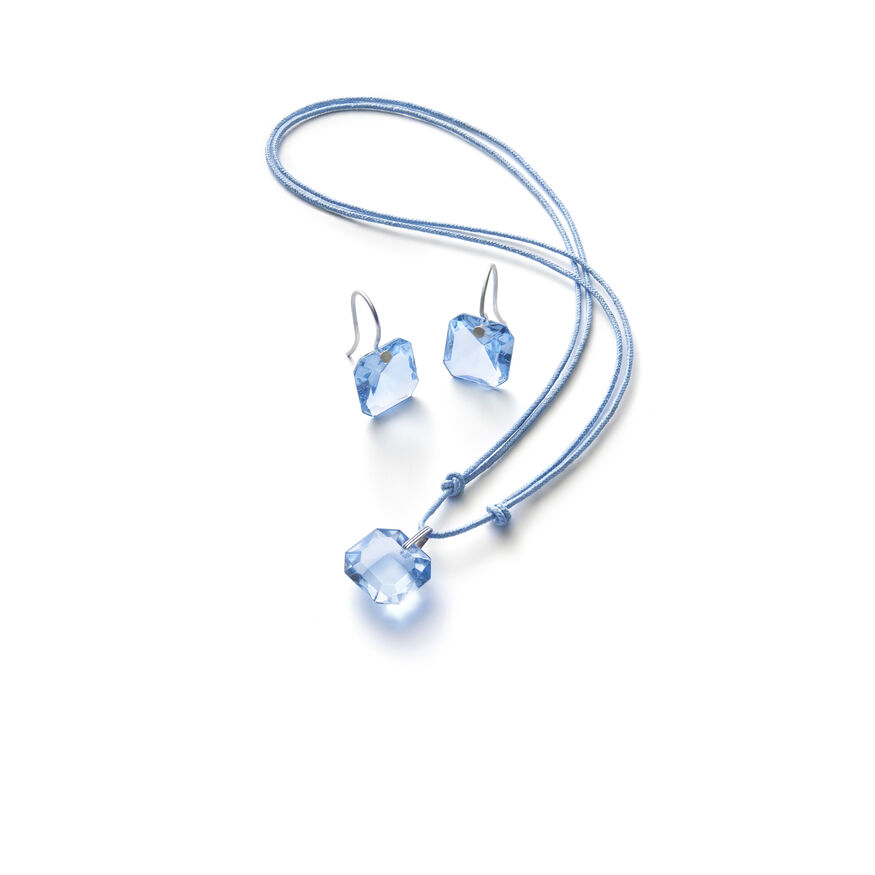 BACCARAT PAR MARIE-HÉLÈNE DE TAILLAC EARRINGS  Light blue - 2