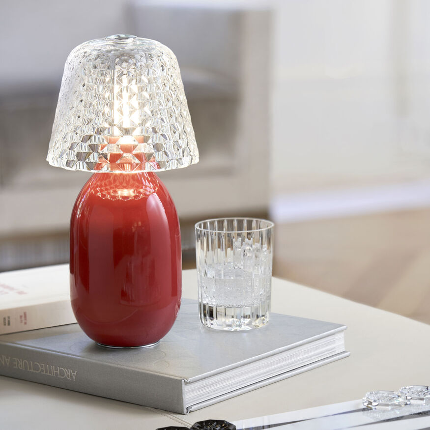 Baby Candy Light Nomadic Lamp, Red - 2