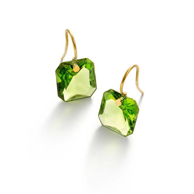 BACCARAT PAR MARIE-HÉLÈNE DE TAILLAC EARRINGS, Green