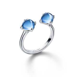 MINI MÉDICIS TOI&MOI RING  Riviera blue