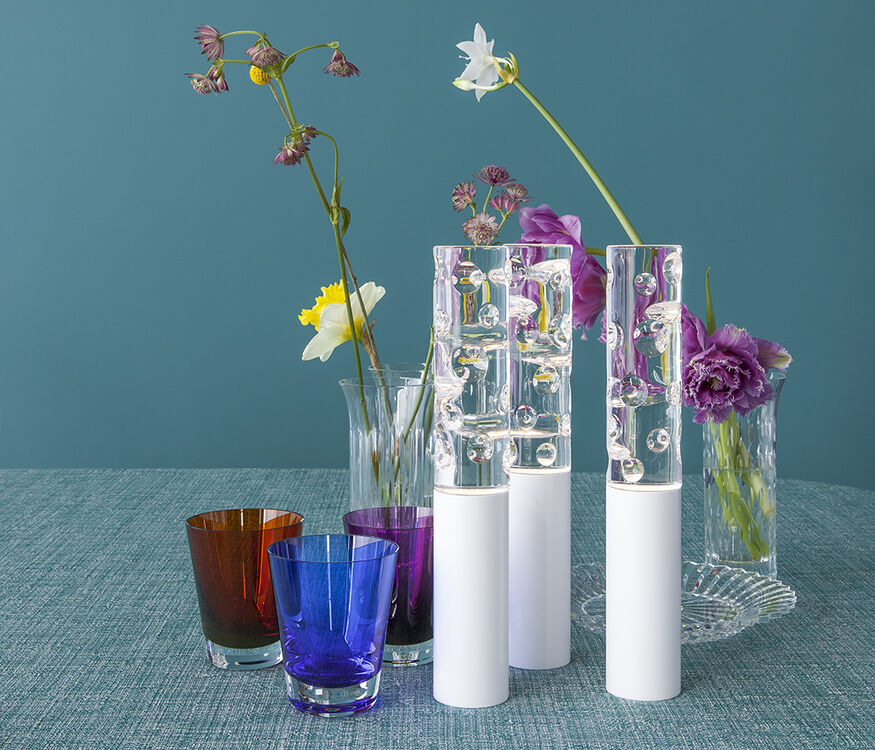 JARDIN DE CRISTAL JALLUM VOTIVES  White - 2