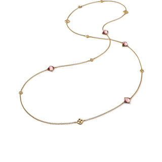 MINI MÉDICIS LONG NECKLACE  Pink