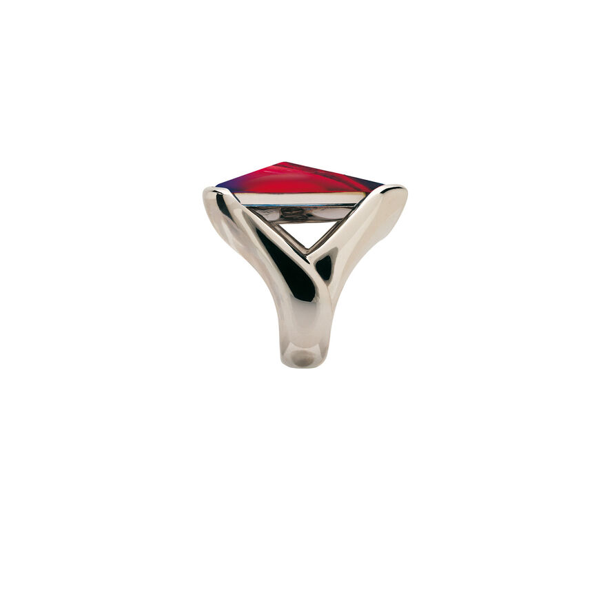 PSYDÉLIC RING  Iridescent red - 3