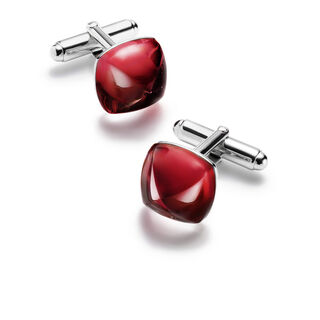 MÉDICIS CUFFLINKS  Red mirror