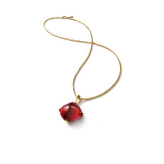 MÉDICIS NECKLACE  Red mirror