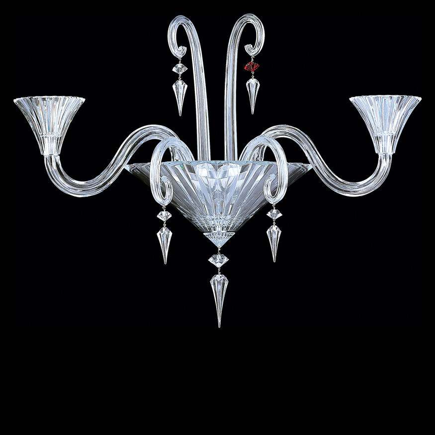 MILLE NUITS WALL SCONCE  Clear
