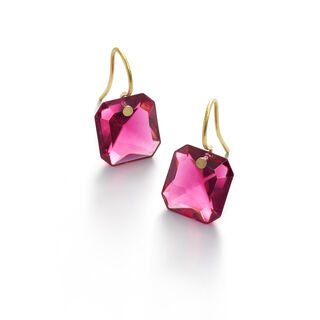 BACCARAT PAR MARIE-HÉLÈNE DE TAILLAC EARRINGS  Peony
