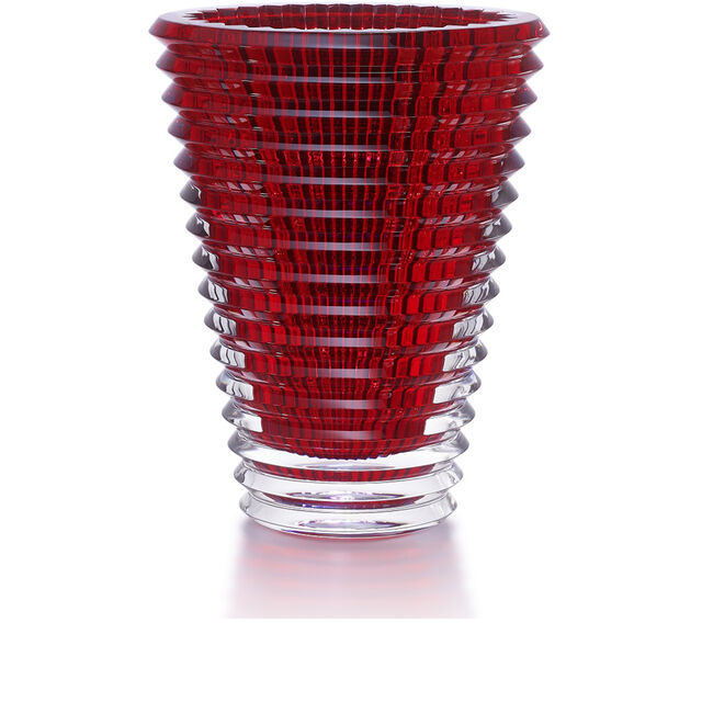 EYE VASE ROUND XL, Red