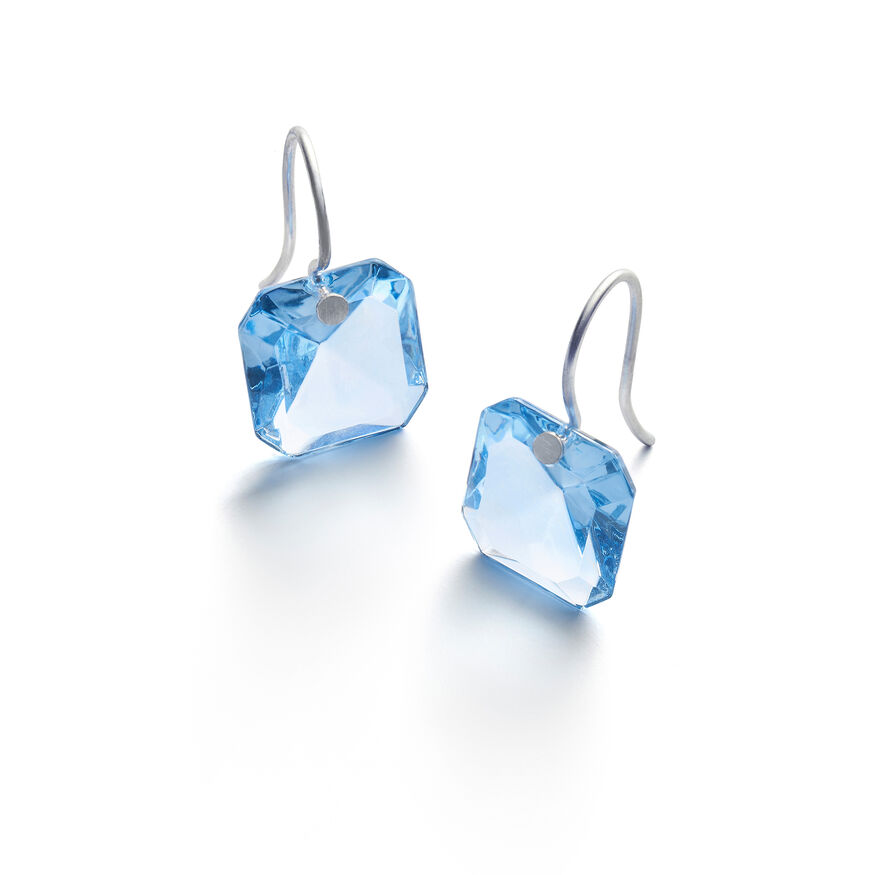 BACCARAT PAR MARIE-HÉLÈNE DE TAILLAC EARRINGS  Light blue - 1