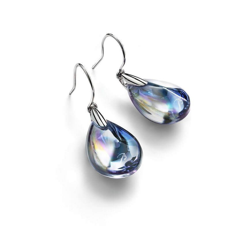 PSYDÉLIC EARRINGS  Iridescent clear - 1
